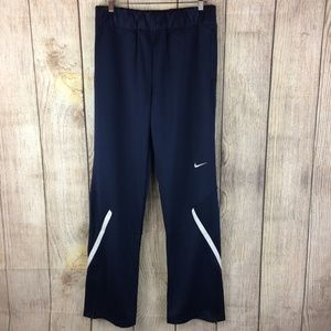 Nike NWT Navy Blue Training Track Pants Sz L Tall